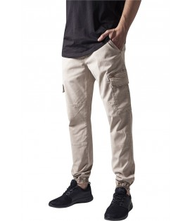 Pantalon Cargo Stretch Urban Classics Washed Beige