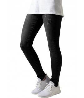 Jean Destroy Urban Classics Noir Ripped Stretch Denim