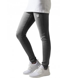 Jean Destroy Urban Classics Gris Ripped Stretch Denim