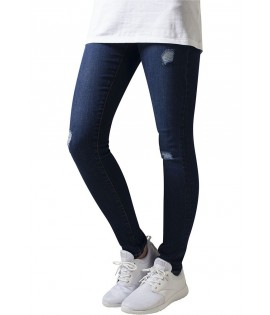 Jean Destroy Urban Classics Bleu Ripped Stretch Denim