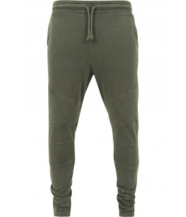 Pantalon Jogging Urban Classics Olive Diamond Stitch