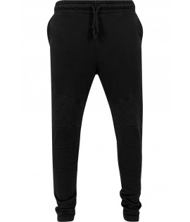 Pantalon Jogging Urban Classics Noir Diamond Stitch