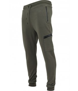 Jogging Sport Tech Urban Classics Dry Fit Interlock Olive