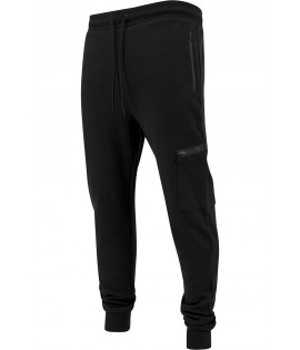 Jogging Sport Tech Urban Classics Dry Fit Interlock Noir