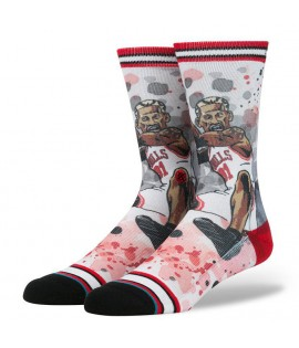 Chaussettes Stance The Worm Dennis Rodman Chicago Bulls NBA Legends