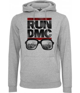 Sweat Run DMC x Mister Tee City Glasses Hoody Gris