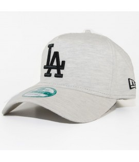 Casquette Trucker New Era LA Dodgers Jersey Flock MLB Gris
