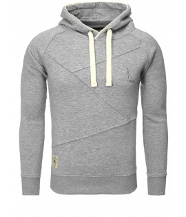 Sweat Capuche Akito Tanaka X- Sweater- Grey