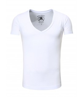 T-shirt basic-V-nek- Akito Tanaka t-shirt Basic-V-neck-White