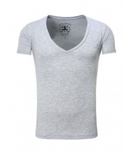 T-shirt basic-V-nek- Akito Tanaka t-shirt Basic-V-neck-Grey