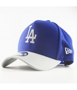 Casquette Trucker New Era LA Dodgers Side Perf Bleu Roi