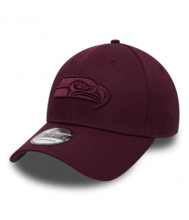 Casquette New Era Seatle Sea Hawks 3930 Tonal League Rouge Bordeaux NFL