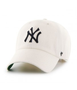 Casquette 47 Brand New York Yankees Droper' 47 Clean Up Natural Laine Melton