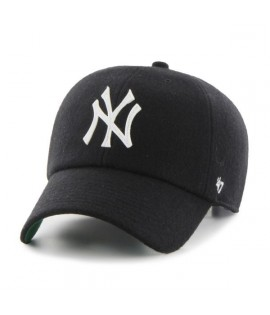Casquette 47 Brand New York Yankees Droper' 47 Clean Up Black Laine Melton