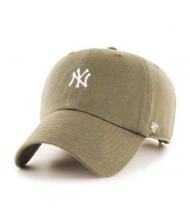 Casquette 47 Brand New York Yankees Hirano' 47 Clean Up Beige Laine Melton