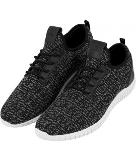 Baskets Urban Classics Light Runner Noir Gris Blanc