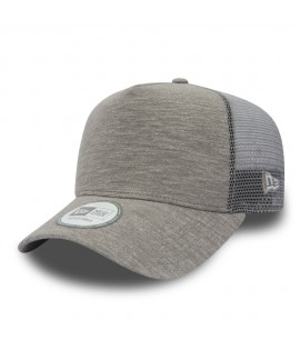 Casquette Trucker New Era Basic Jersey Gris