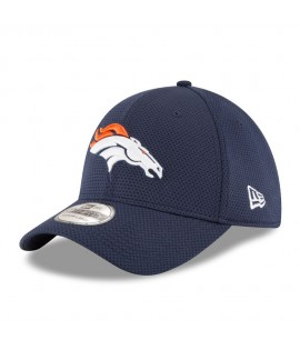 Casquette New Era 3930 Denver Broncos Diamond Bleu Marine
