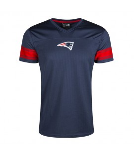 Maillot New England Patriots New Era NFL Football US Bleu Supportrs Jersey