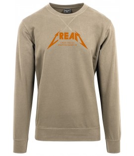 Sweat Mister Tee Cream Crewneck Dark Sand Beige