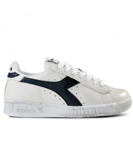Chaussures Diadora Héritage Game Low Waxed Blanche