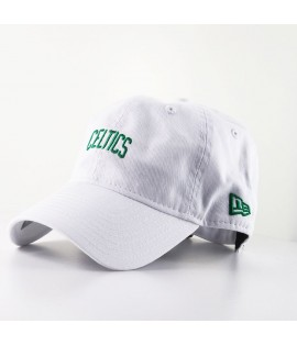 Casquette Incurvée New Era Boston Celtics NBA 920 Unstructured Blanche 9Twenty