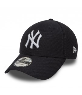 Casquette New Era 3930 NY Yankees Diamond Bleu Marine Blanc