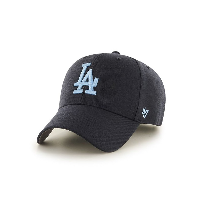 casquette 47 brand la dodgers mvp bleu marine turquoise. Black Bedroom Furniture Sets. Home Design Ideas