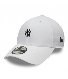 Casquette New Era 3930 New York Yankees Mini Logo Blanc