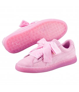 Chaussures Puma Suede Heart Reset Classic Rose Prism Do You