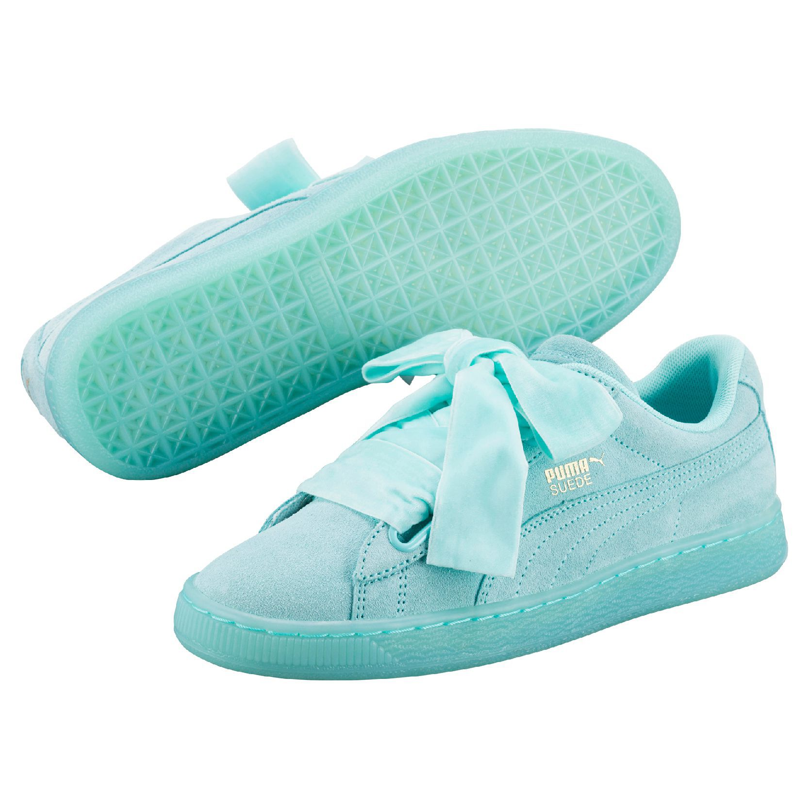 puma basket heart enfant
