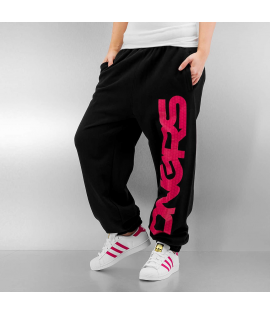Bas de jogging Dangerous DNGRS Sparcle Sweatpants Noir Rose