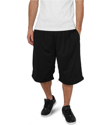 Short à poches Basket-Ball URBAN CLASSICS Noir en mesh
