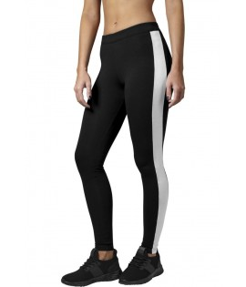 Legging Retro Urban Classics Stretch Noir