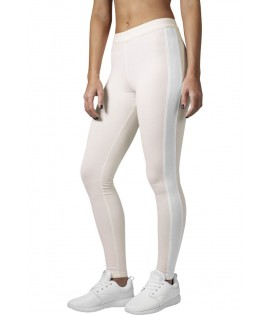 Legging Retro Urban Classics Stretch Rose Pale