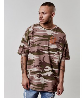 T-shirt Cayler & Sons Doomed Oversized Drop Shoulder Tee Camouflage