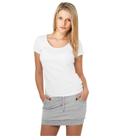 Jupe en coton stretch URBAN CLASSICS Gris French Terry