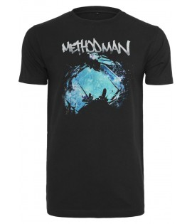 T-shirt Wu Wear Method Man Noir