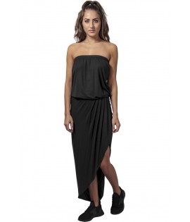 Robe Urban Classics Noir Bandeau Stretch