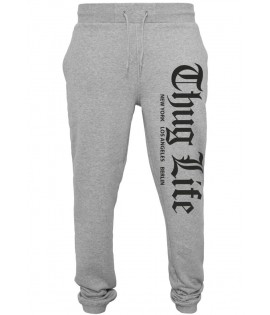 Bas de jogging Thug Life Cities Sweatpants Gris