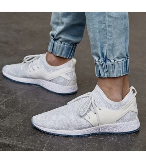 Cayler & Sons Baskets  Kaicho Low Blanc Blanc - Chaussures Basket Homme