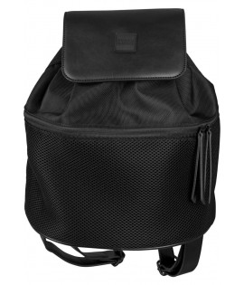 Sac à dos Midi Mesh Mix Backpack Noir