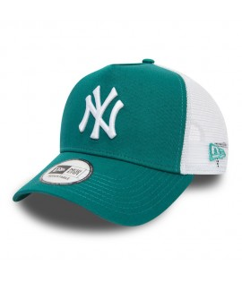 Casquette Trucker New Era New York Yankees Essential Truck Vert Eau
