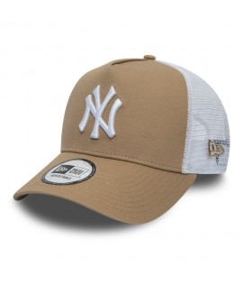 Casquette Trucker New Era New York Yankees Essential Truck Beige