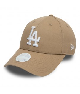 Casquette Incurvée Femme New Era Los Angeles Dodgers 9Forty Beige