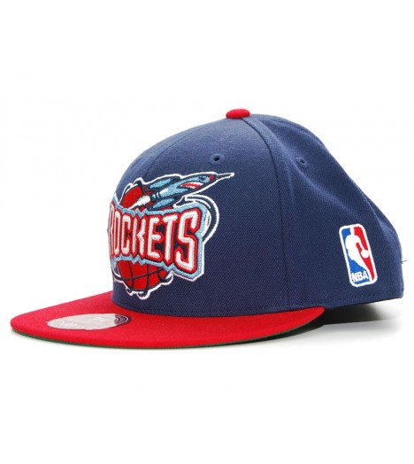 MITCHELL & NESS ROCKETS Houston Logo XL Bleu Marine