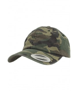 Casquette Camouflage Flexfit Curved Low Profile Wood Camo
