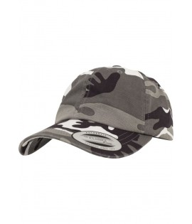Casquette Camouflage Flexfit Curved Low Profile Silver Camo