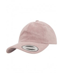 Casquette Velours Rose Flexfit Low Profile