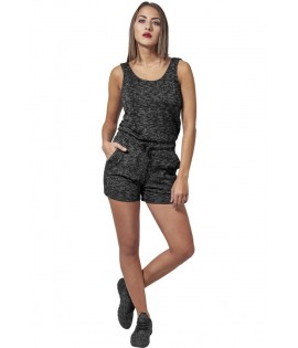 Combi-Short Urban Classics Gris Chiné Hot Jumpsuit